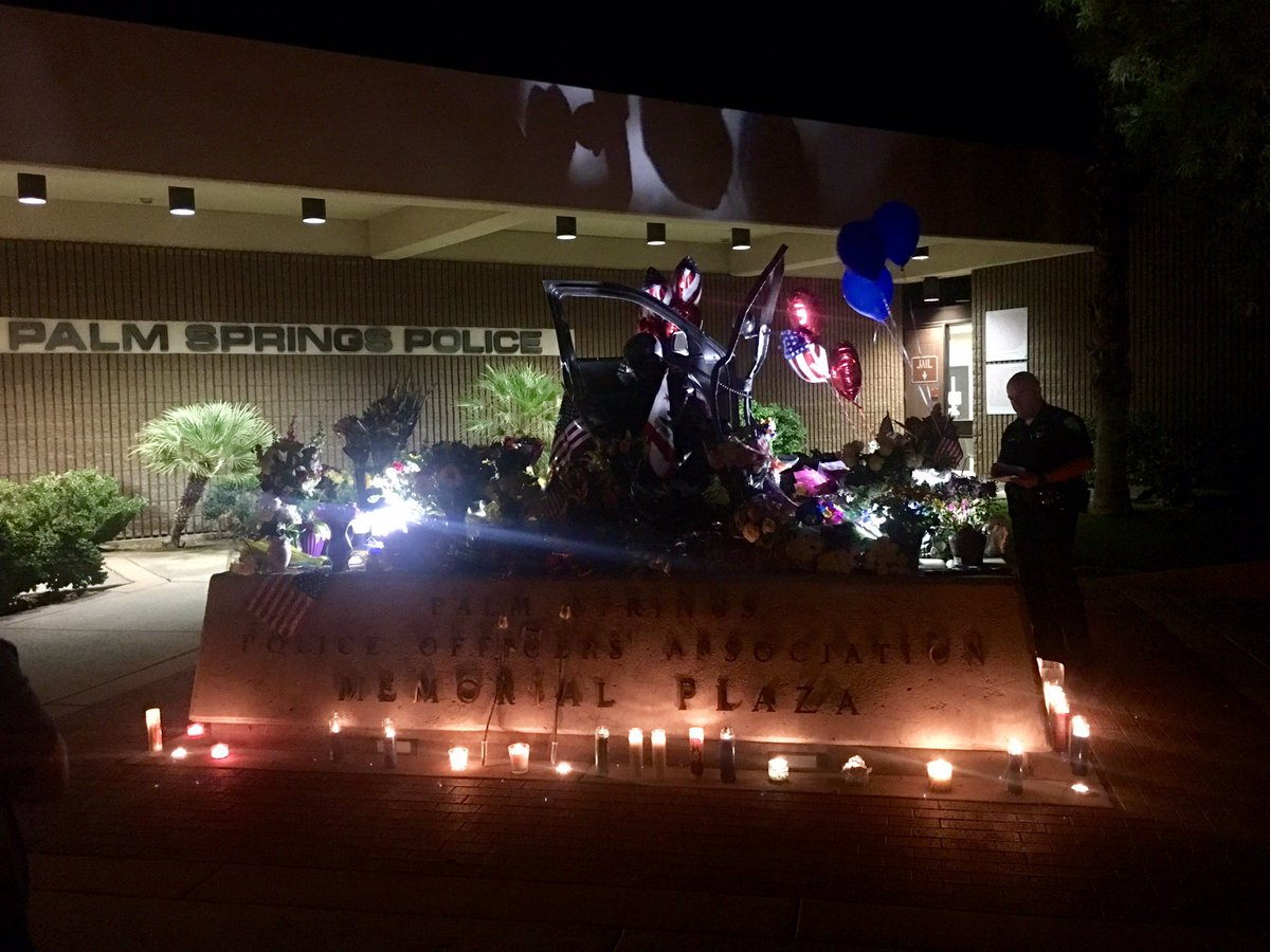 Two Officers Killed, Third Wounded in Shooting in Palm Springs, California
