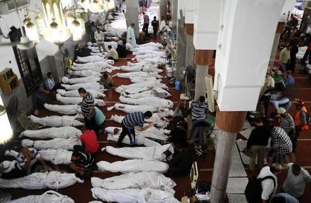 عدد ضحايا مجزرة العريش - 305 قتلى- من قتلهم - نقاش CuUfMieXgAAklcw