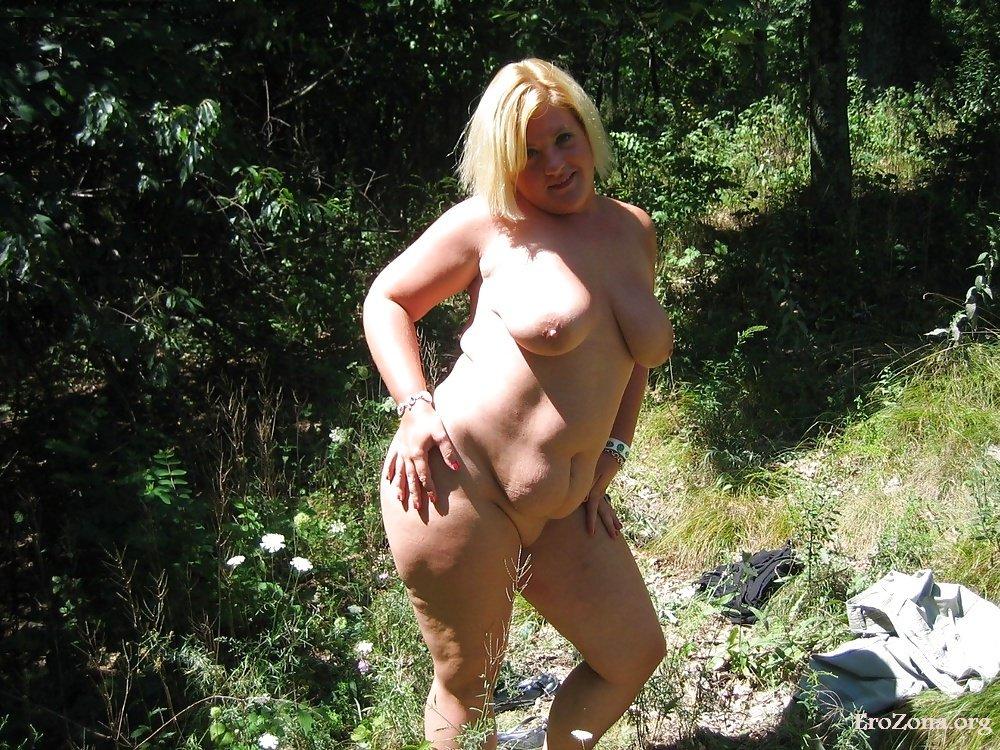 Частное на природе толстые порно фото