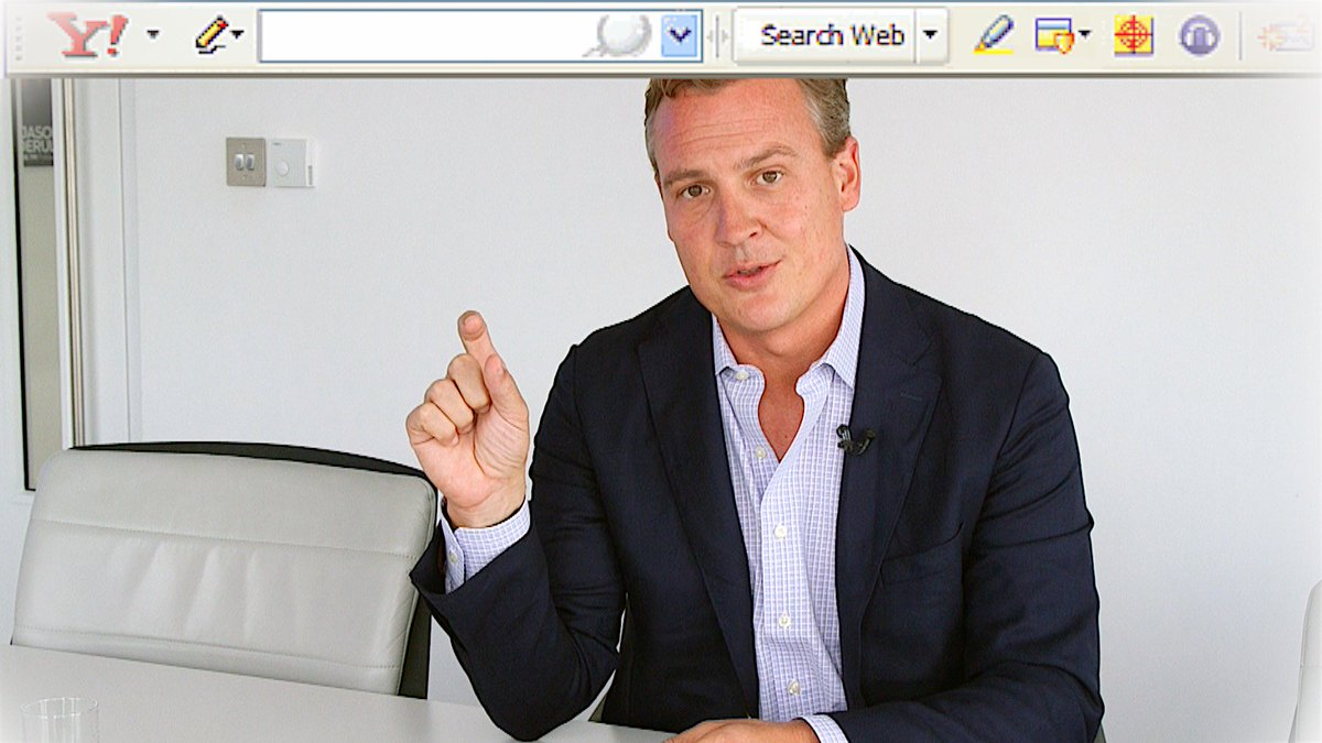 Meet the CEO who 'accidentally invented the internet toolbar'.