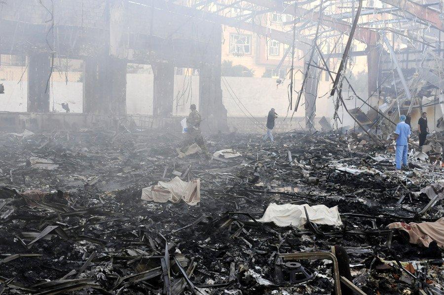Жертвами циничного авиаудара в Йемене стали более 600 человек