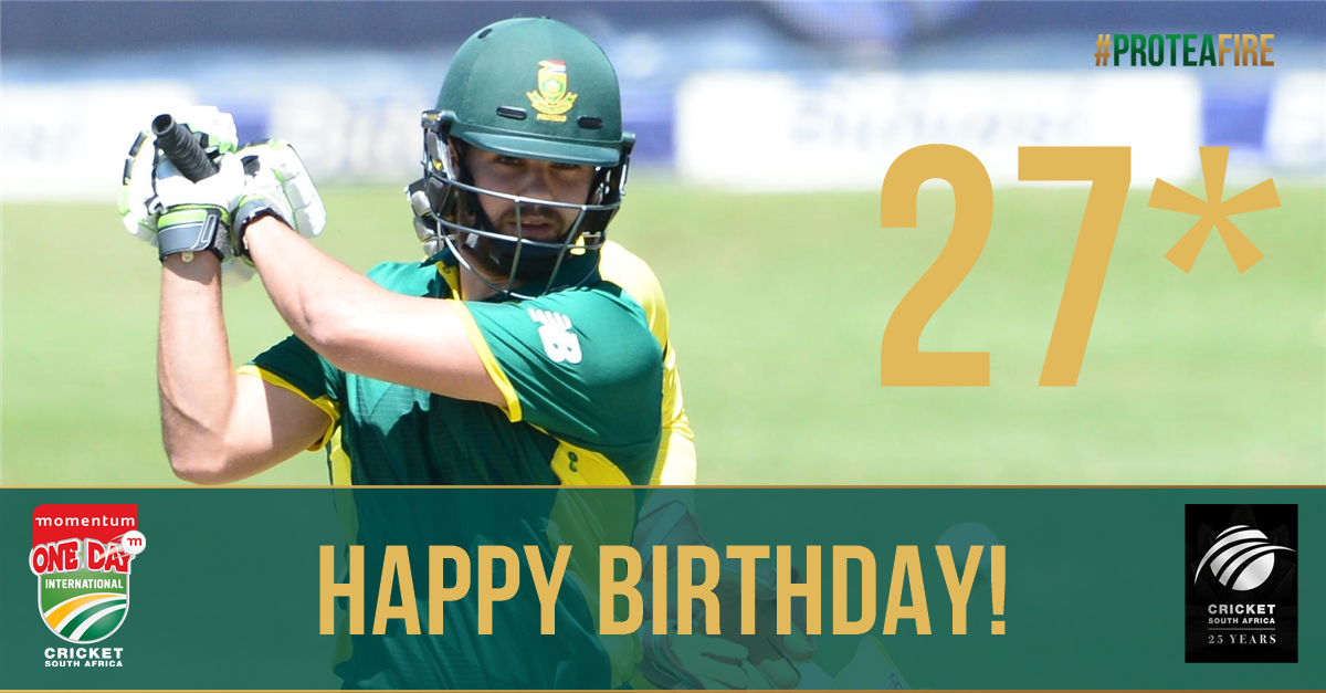 Happy Birthday to Rilee Rossouw