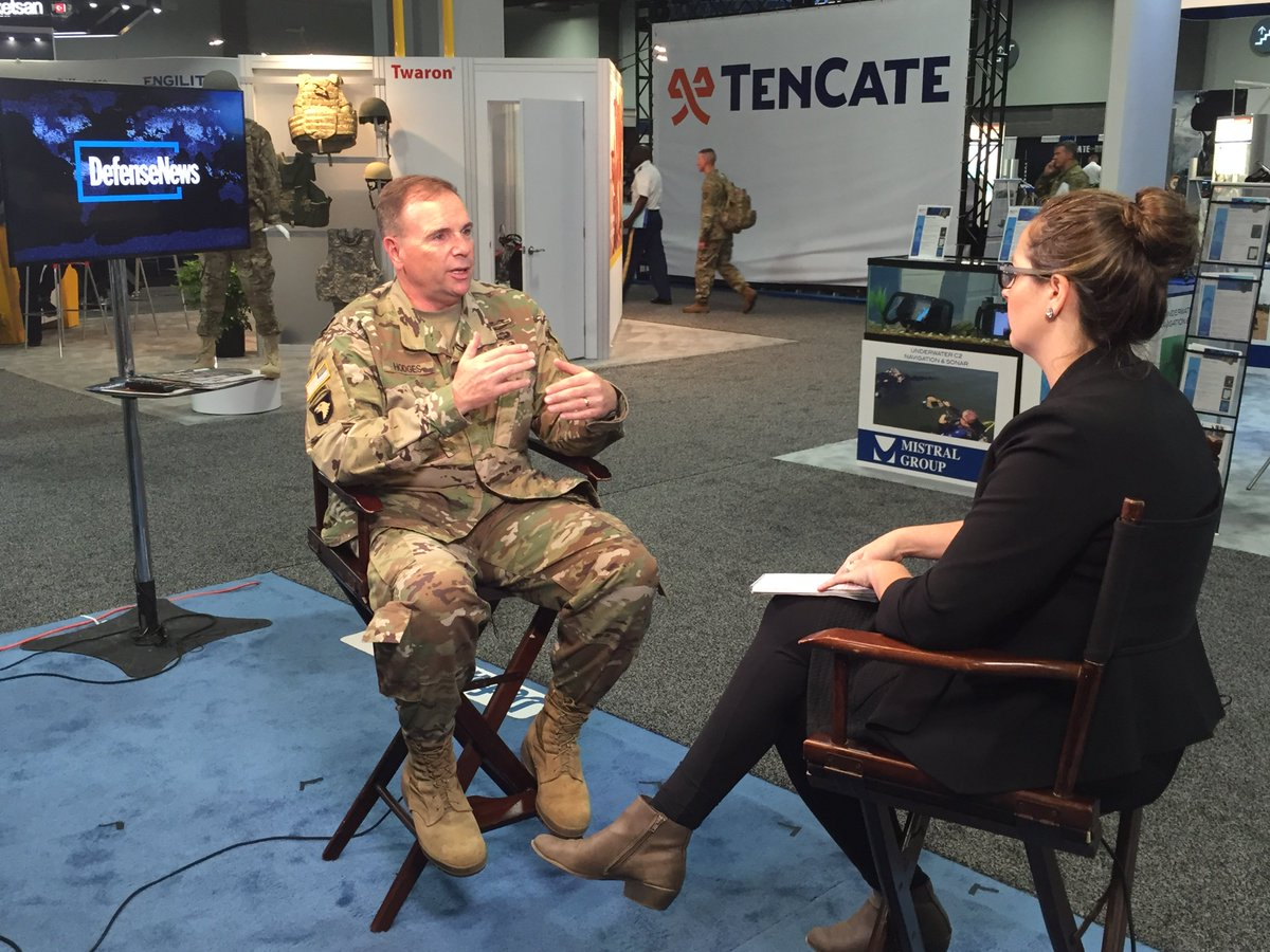 #DNTV taks to LT Gen Ben Hodges @USArmyEurope about US Army Buildup in Europe  https://t.co/i9QHvbcAoq @JenJudson @defense_news @FedEdJill