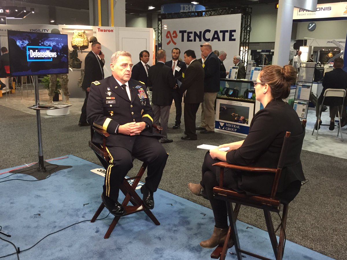 #DNTV Interview with Gen Mark A. Milley on developing the future force  https://t.co/wqEG5gWtJd @GENMarkMilley @defense_news @JenJudson