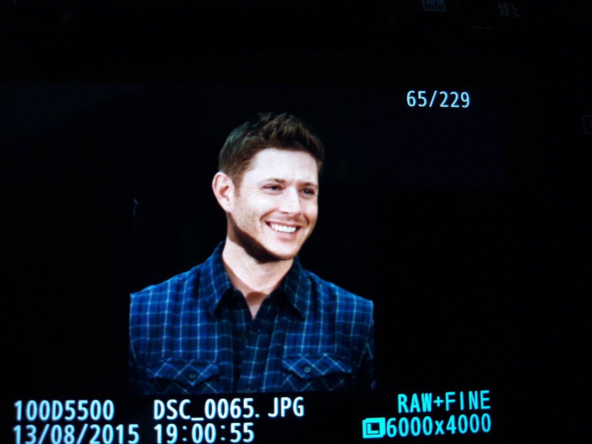What a smile :-) @JensenAckles #TorCon #spntor https://t.co/XFn3hxFGaI