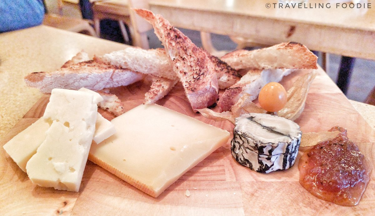 Travelling Foodie eats Cheese Board