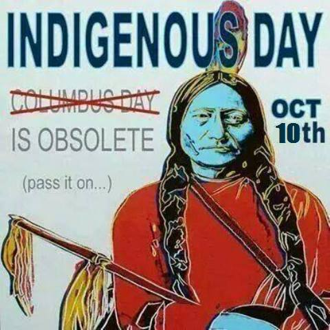 Indigenous Day...Pass it on! https://t.co/PLc6eJyzRW