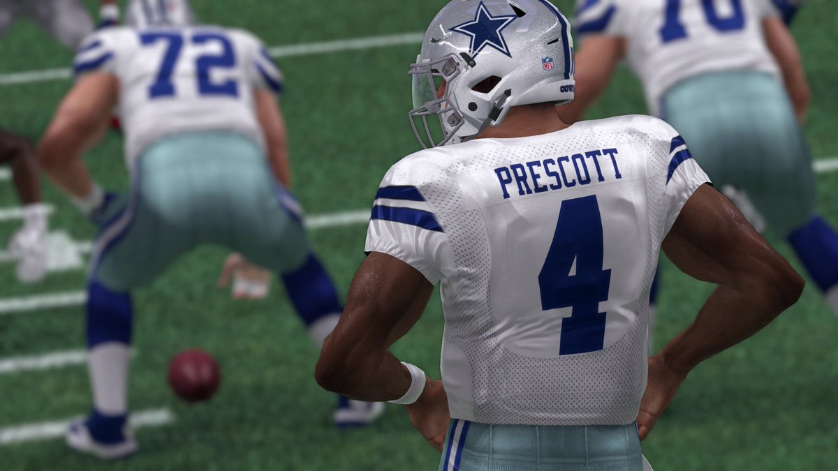 Madden Nfl 21 On Twitter Dak 147 Yds 1 Td Zeke 128 Yds 2 Td Dallascowboys Rookies On
