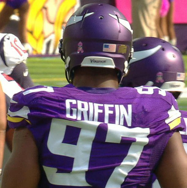 huge selection of 70160 01f37 Everson : CmonMan Everson Griffen misspelled jersey | NFL on ...
