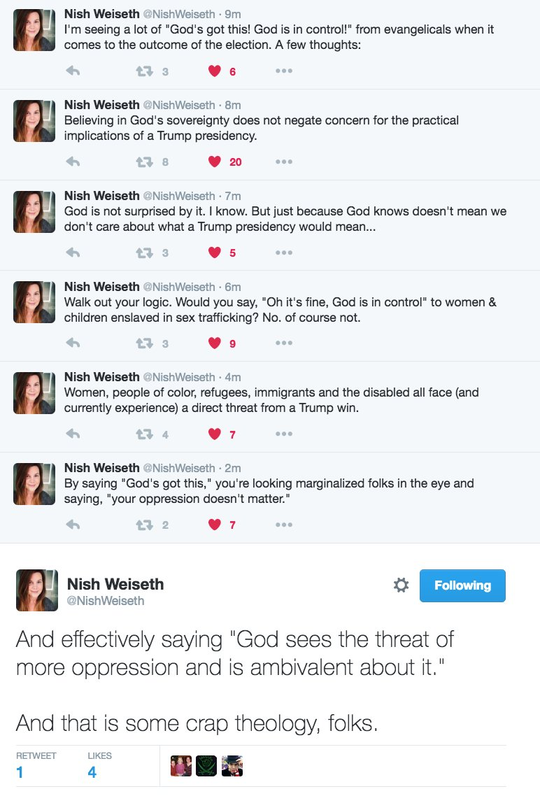 I am not very religious but I am sure glad @NishWeiseth is. https://t.co/nViUMC3t4w