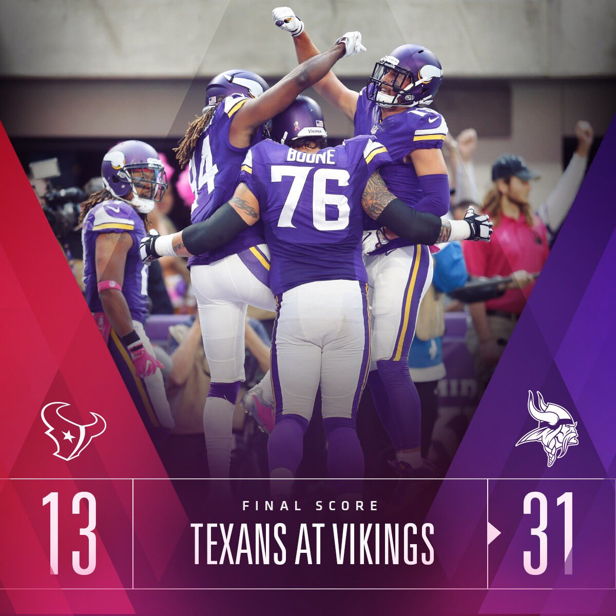5-0. #Skol https://t.co/6frxhYYkxH