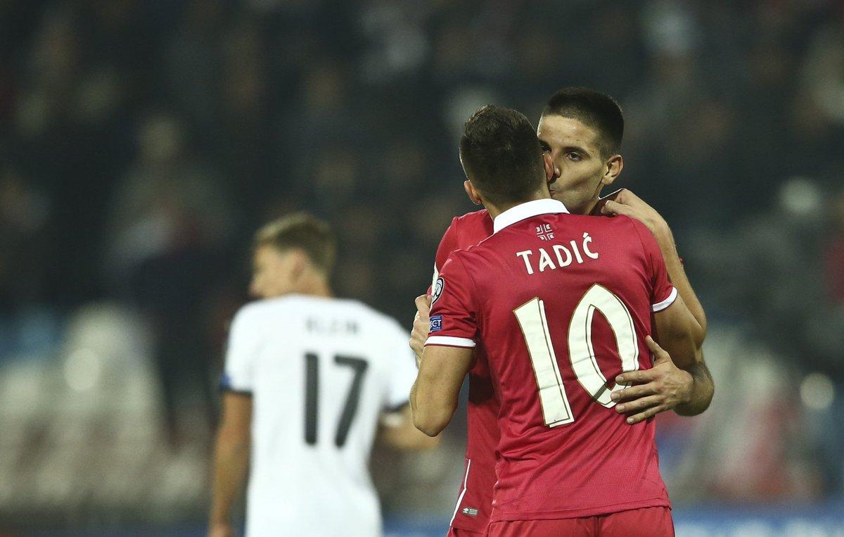 Serbia's last 10 goals:  Tadić ⚽️ Tadić assist Tadić assist Tadić ⚽️ Tadić assist Tadić assist Tadić ⚽️ Tadić assist Tadić assist Tadić ⚽️