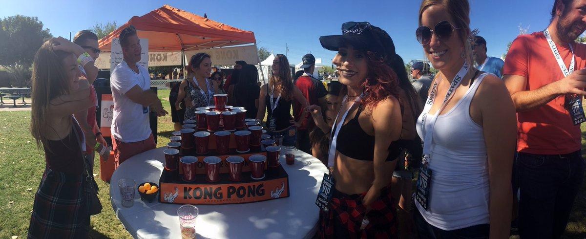 Kong Pong Anyone Downtowntempe Beerpong 2for1 Sundayfunday Fourpeaksoktoberfest Fourpeaksbrewpic Twitter Tsmjx67icw At Tempe Beach Park