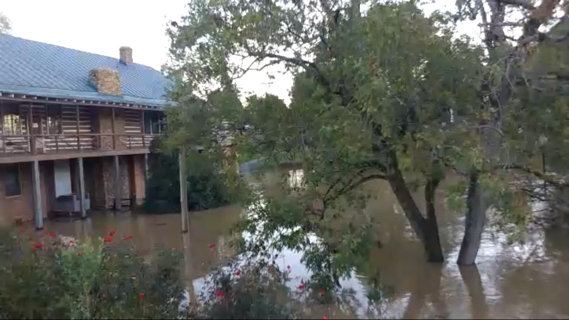 Flooding along the Neuse River in Smithfield as seen from one of our unmanned camera units placed there yesterday afternoon. Watch the LIVE cam here: http://www.ustream.tv/channel/C6kGCZ3uJCF