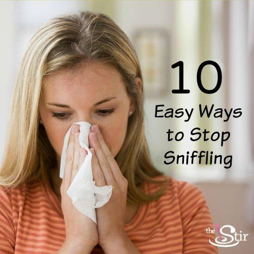 10 No-Fail Ways to Stop Sniffling Now https://t.co/Xwoqa4Yz3s #snifflegate2 #debate https://t.co/wQSsKg95UR