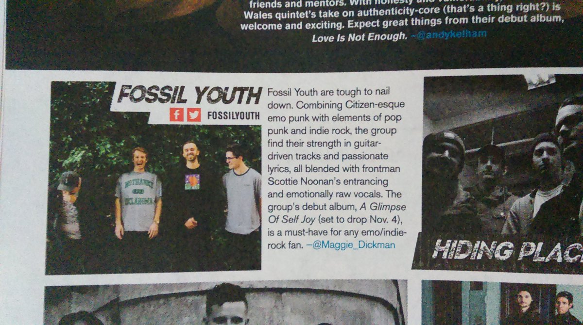 Happy to see @FossilYouth in @AltPress magazine for the 1st time! So proud of them. https://t.co/6bkxZLI0MT