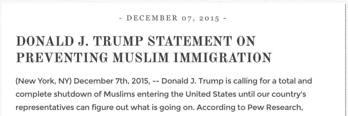 This is still on Donald Trump's website https://t.co/wNOQX7hYka