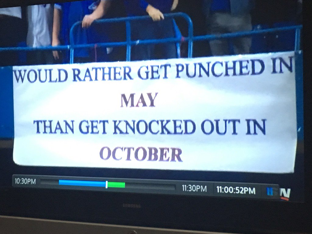 Amazing sign at the Jays game #OurMoment https://t.co/yLAsUfKPhu