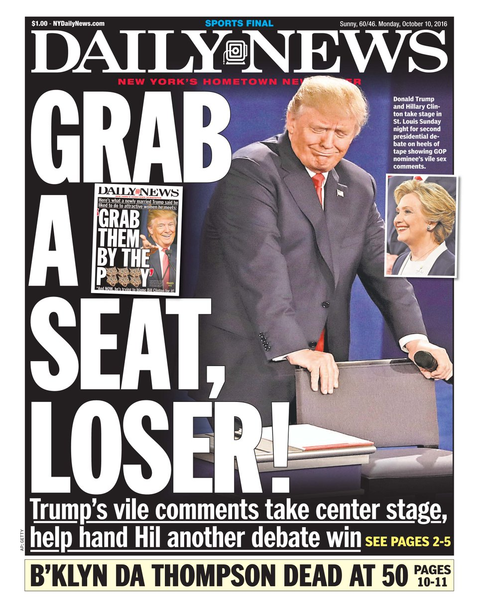 New York Daily News Cover: NY Daily News Front Cover