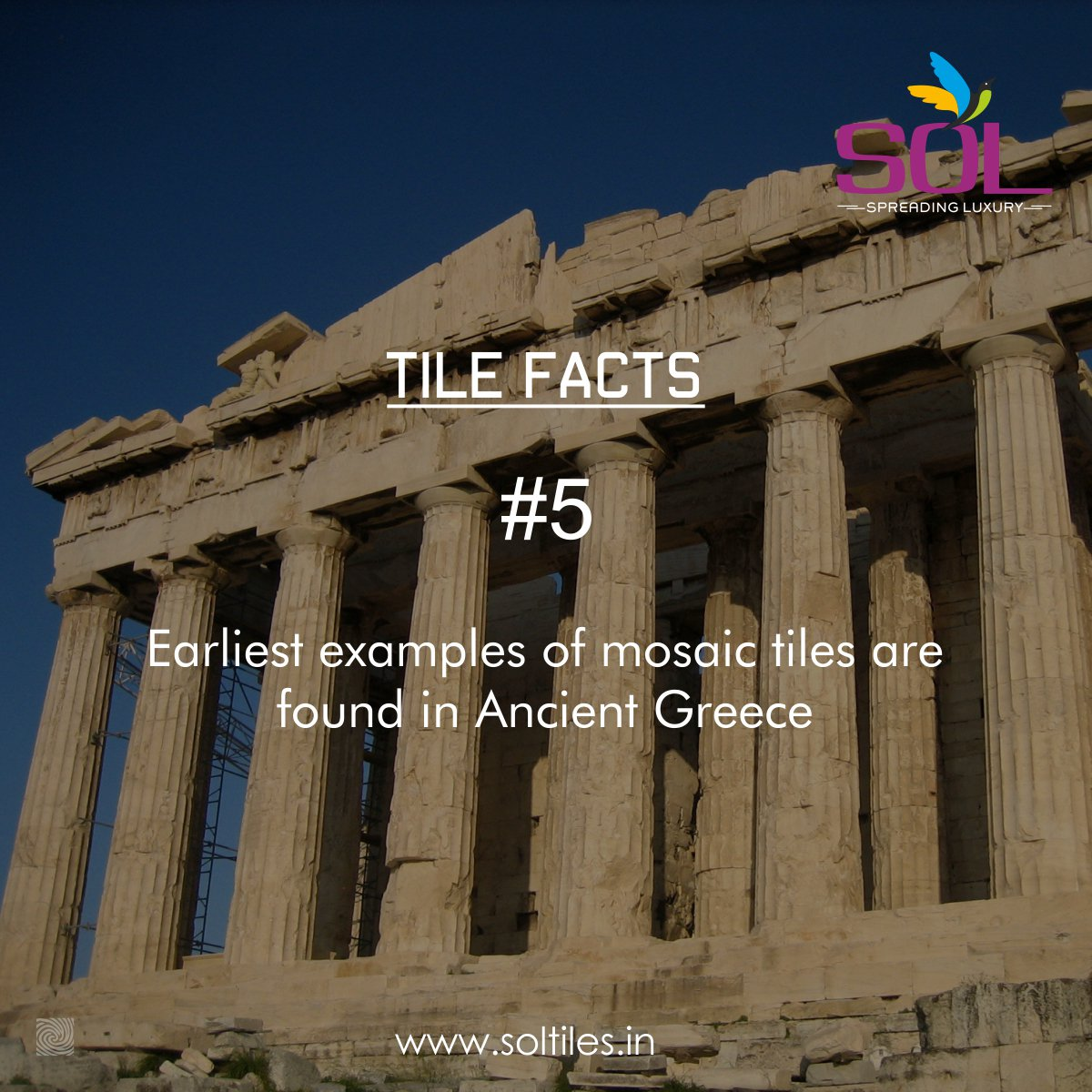 sol tiles on twitter tile facts 5 earliest examples of mosaic