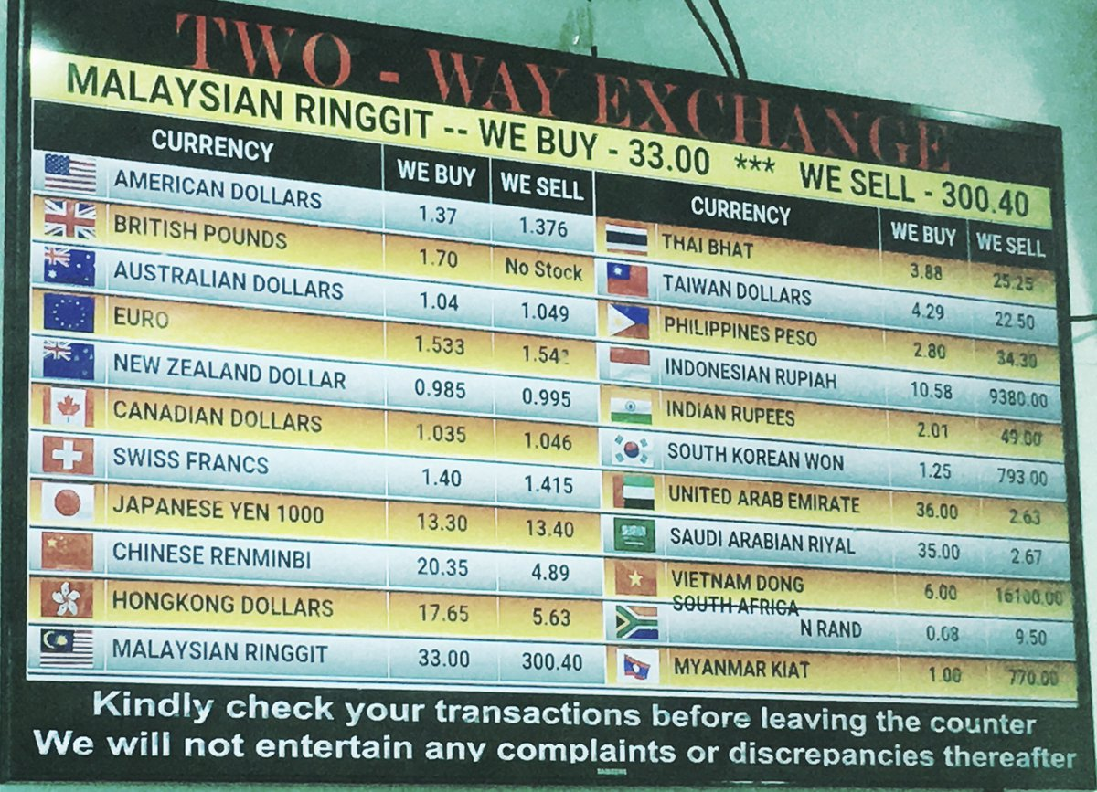 Cash Changer On Twitter Two Way And Ar Money Exchange Is In Bishan Golden City At Toa Payoh Cashchangerrates