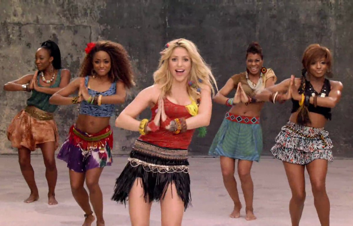Шакира вака вака, Shakira - Waka Waka (FifaWorld Cup) - скачать 27 фотография