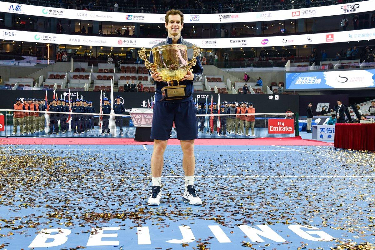 Murray domina en Pekin.