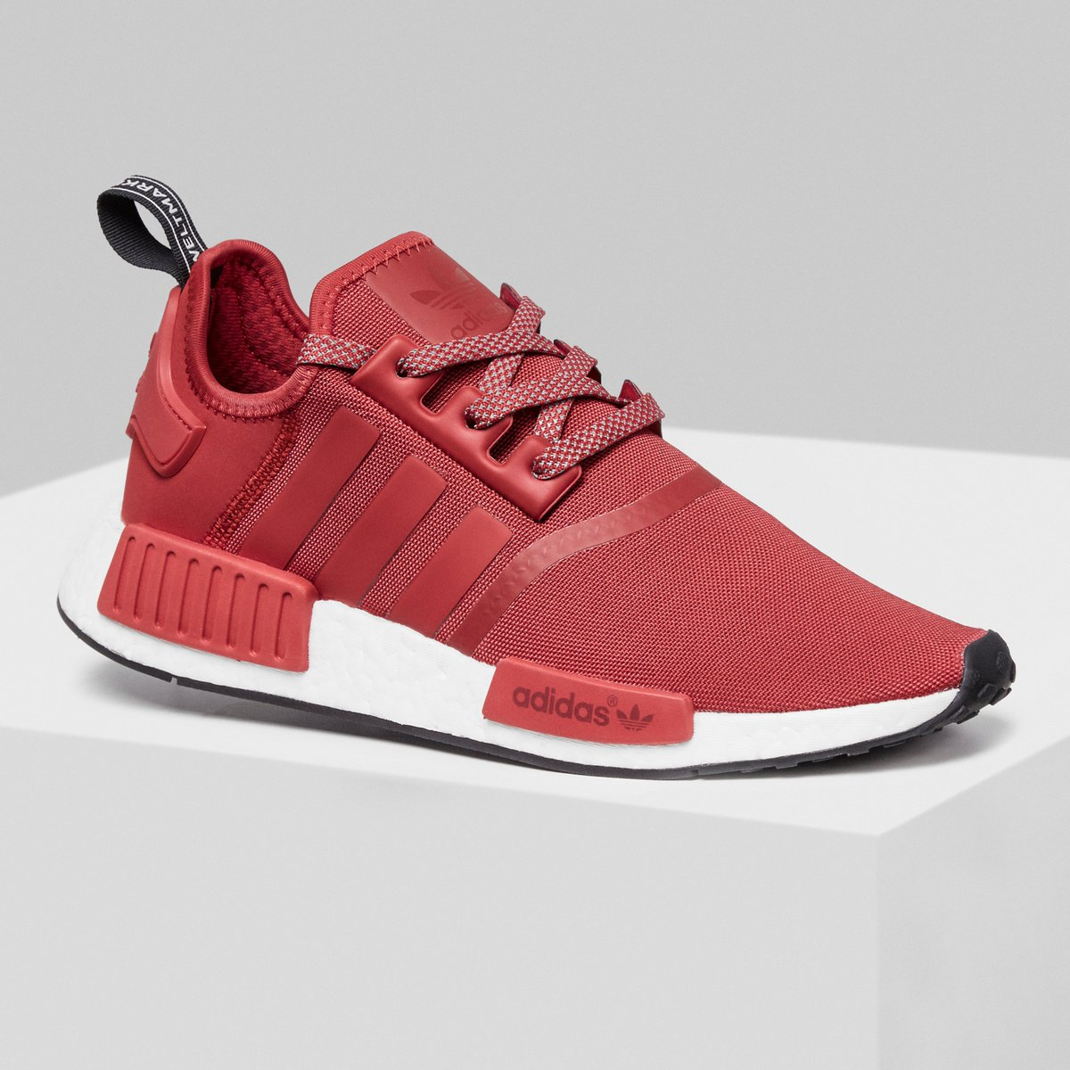 f0a920eac41 ICYMI  The  adidasoriginals NMD R1  JDExclusives in Olive and Red are  available now