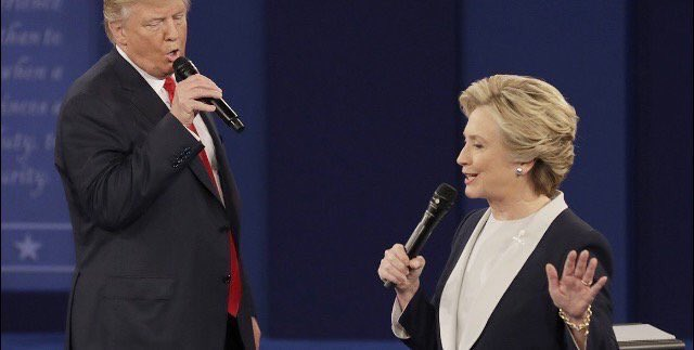 """""""And then I go and spoil it all By saying something stupid Like I'll federally prosecute youuu"""" #debate https://t.co/qG8suDgvWd"""