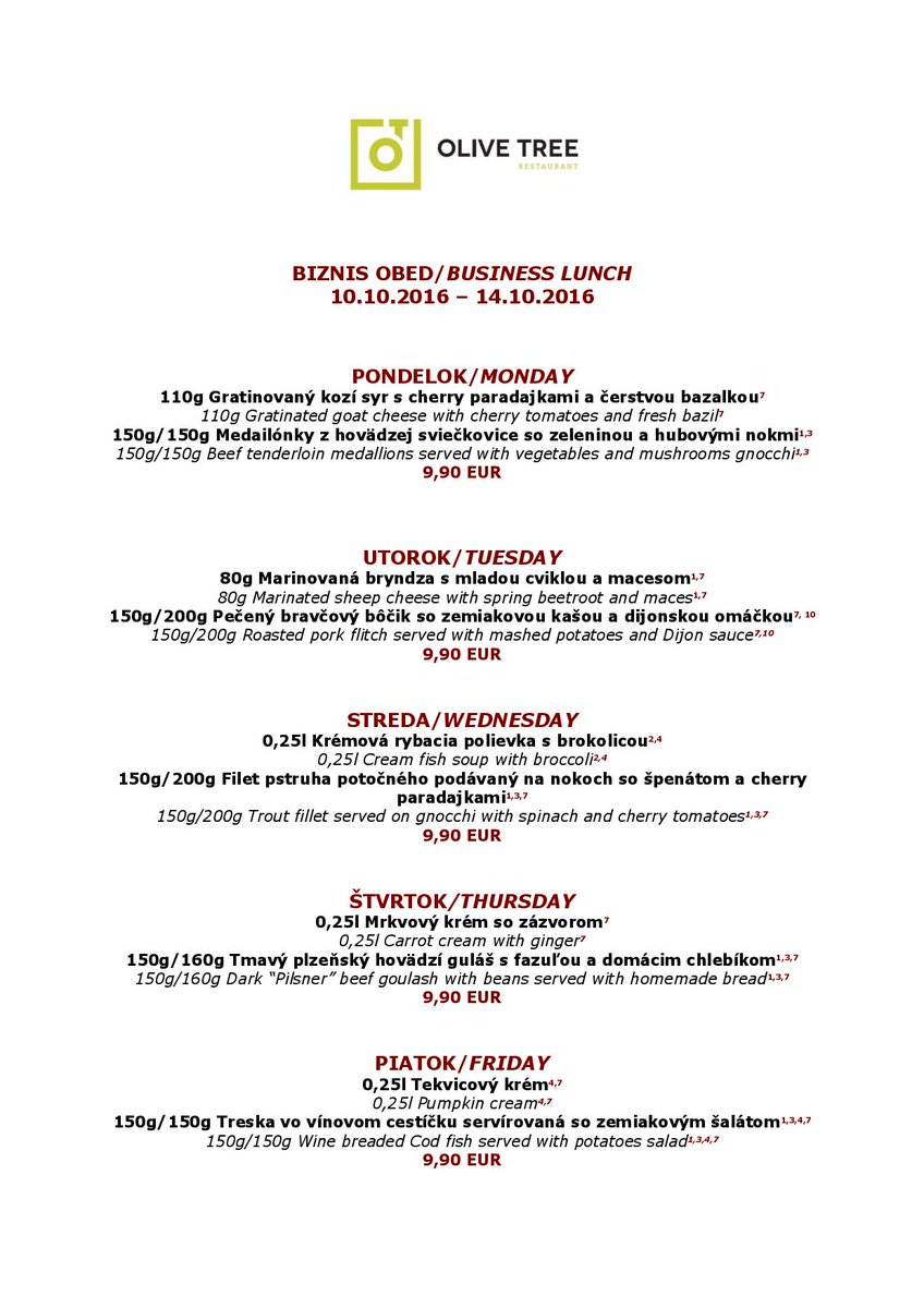 Hungry?Our new business lunch is here:-D https://t.co/0fqGVrZaxA