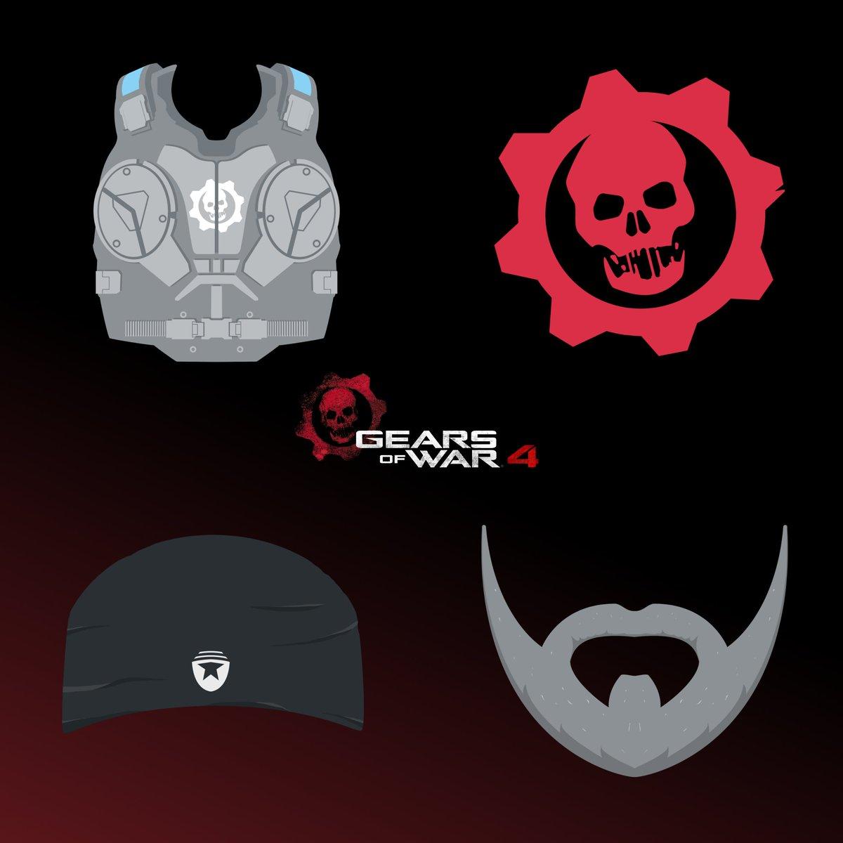 gears of war 4 twitter stickers