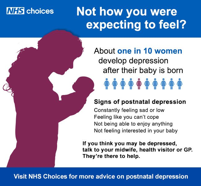 Nhs On Twitter Postnatal Depression Is Common Amongst New Parents