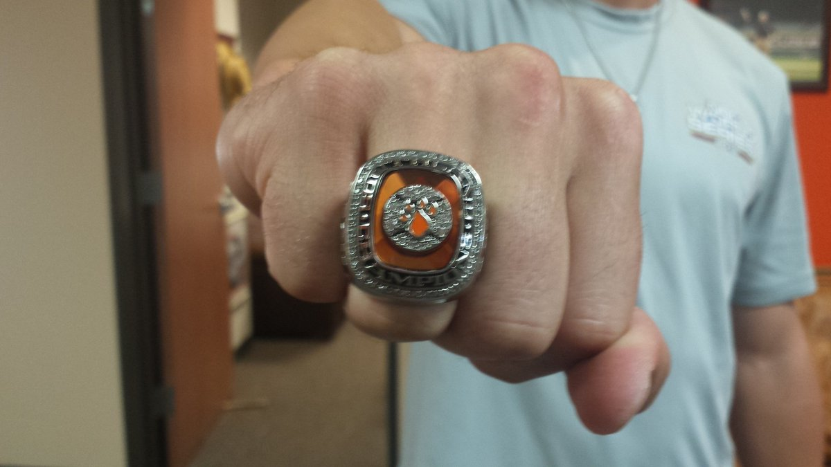 pin sam baseball houston state national shsu championship ring rings