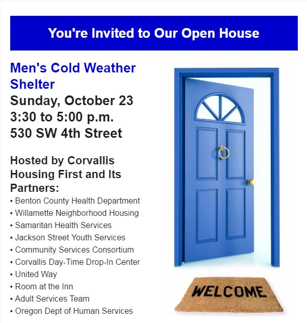 City Of Corvallis On Twitter Please Share Corvallis Housing First