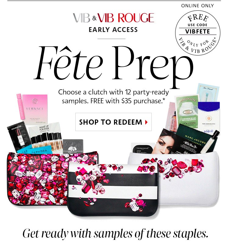 Choose a #Sephora Clutch With 12 Party Ready #Samples Using #Promo Code #PARTYON and…  http:// dealstoogoodtopassup.com/2016/10/17/cho ose-a-sephora-clutch-with-12-party-ready-samples-using-code-partyon-and-vibfete &nbsp; … <br>http://pic.twitter.com/N6GrcakE7j