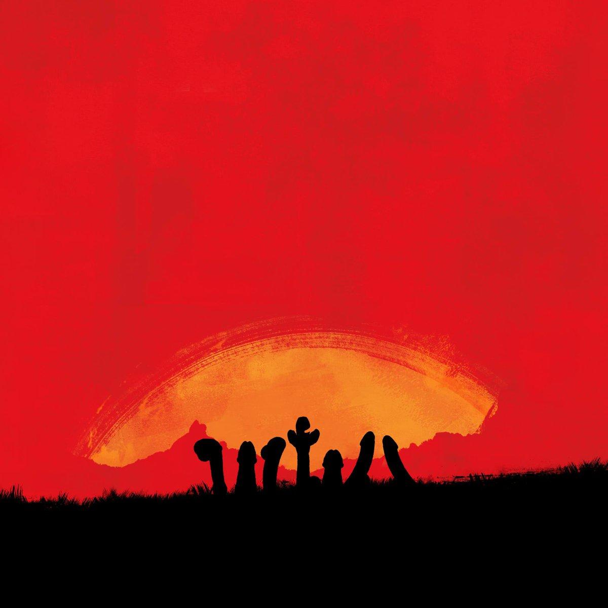 Поклонники Red Dead Redemption сходят с ума, уморительный флешмоб связанный с обложкой
