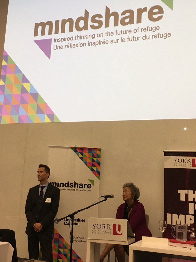 Adrienne Clarkson speaks on importance of family reunification #refugeeswelcomehere #Mindshare2016 #yurefugees https://t.co/sVdCXKAVtz