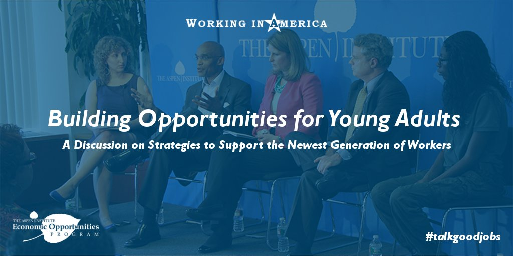 A1 (2/2) We hosted a panel on the needs & opportunities of young workers. Watch if you're interested: https://t.co/35KyqpPfuF #MillennialMon https://t.co/tCGmS1oC0h
