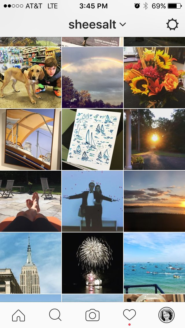 "What does your #Instagram ""quilt"" look like? asks @shopcompliment #SLSummit Here's mine: https://t.co/3hwYczYh1y"