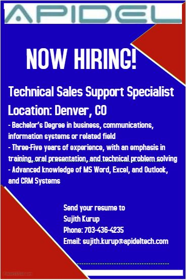 sales support specialist job description