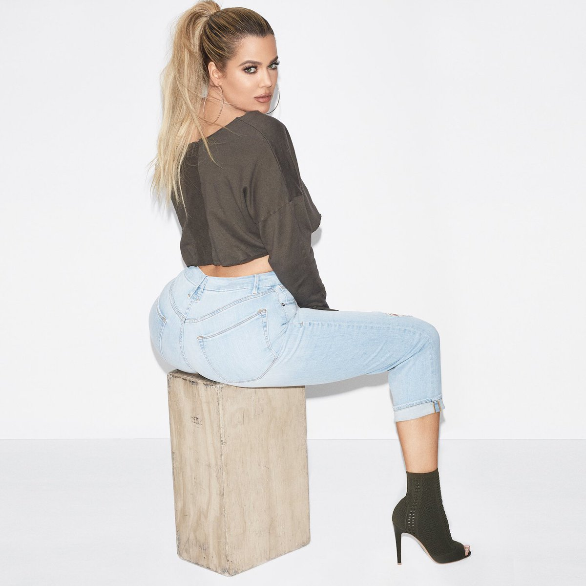 Khloe Kardashian S Good American Denim Line Launches Tomorrow At Nordstroms Online At Goodamerican Com Lipstick Alley