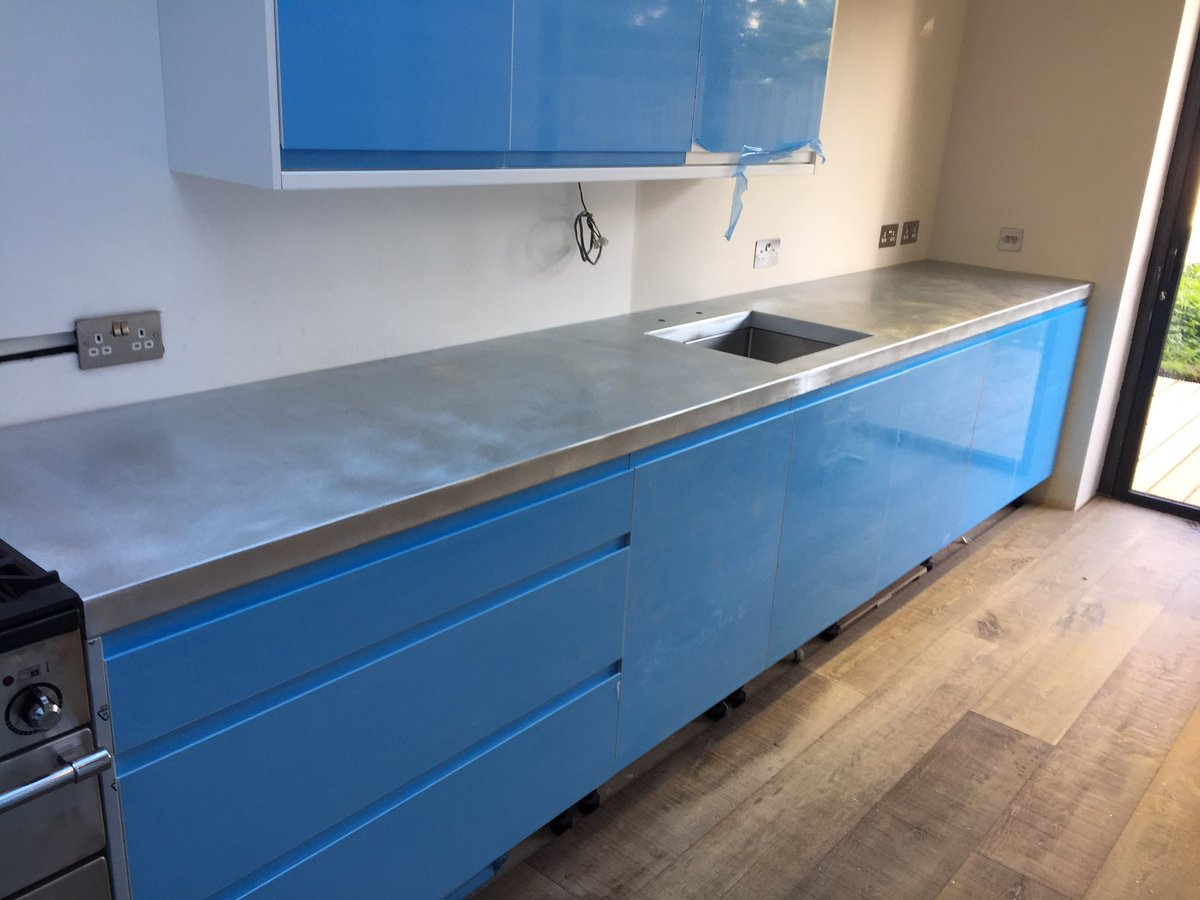 Zinc Kitchen Worktops. Zinc Countertops Topic Related To Zinc Brooks ...