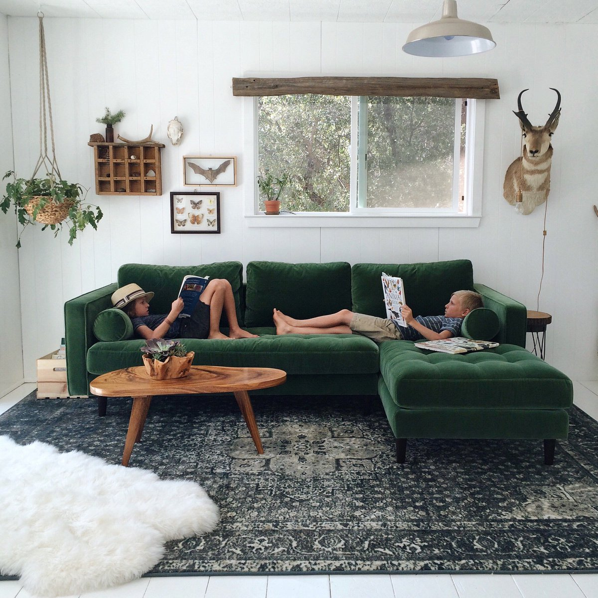 Rugs usa on twitter kick back and relax it 39 s good for - Sofa piel vintage ...