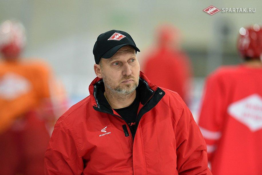 Алексей Ярушкин провел первую тренировку в «Спартаке»