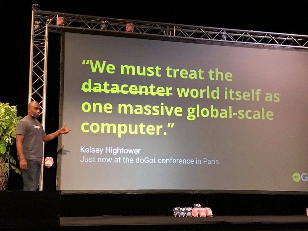 @kelseyhightower on running local Go binary on global Kubernetes set of clusters #dotGoEu https://t.co/QJTJxyhTMJ