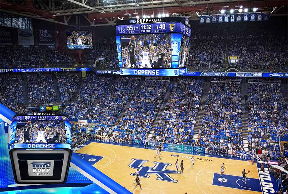 Rupp Arena wants YOU to name the new video scoreboard ...