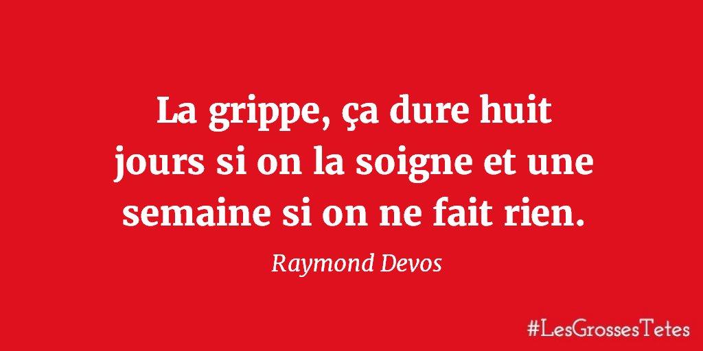 """Les Grosses Têtes on Twitter: """"Une #citation de saison signée Raymond Devos.  #LesGrossesTêtes #RTL… """""""
