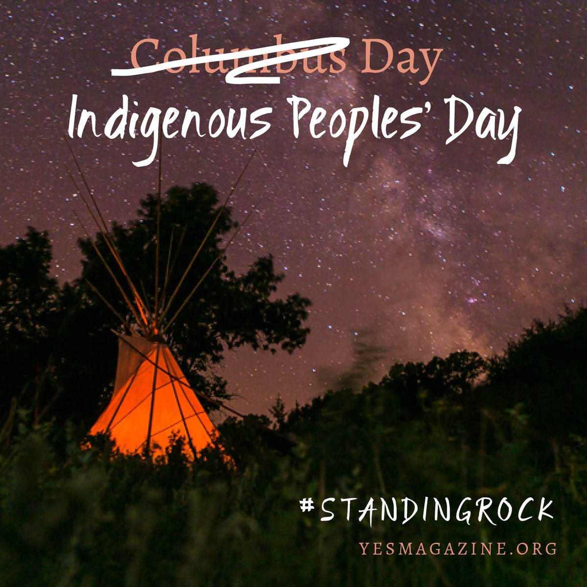 Retweet if you think #IndigenousPeoplesDay should replace #ColumbusDay across the country! https://t.co/rBm0Av5kds