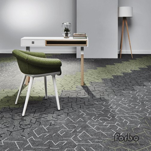forbo flooring on twitter flotex triad has exciting. Black Bedroom Furniture Sets. Home Design Ideas