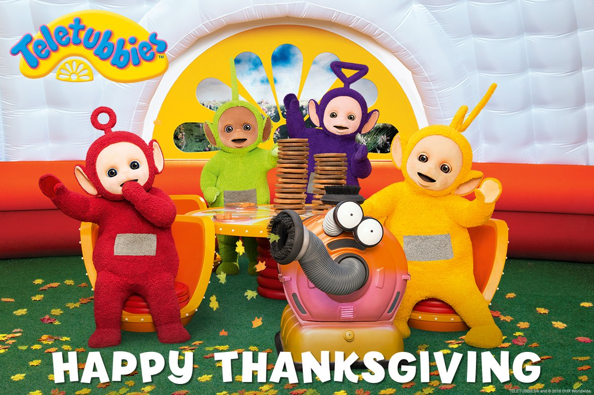 Teletubbies On Twitter Wishing A Happy Thanksgiving To All Our